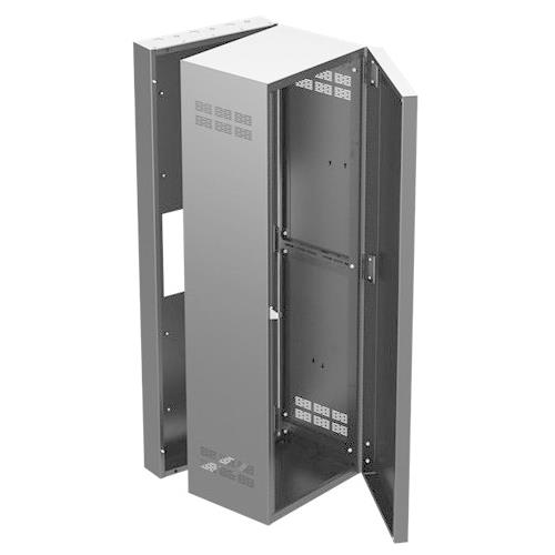 15 SECTNL WALL CABINET BK W/DR