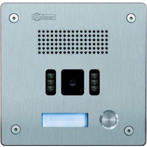 1 BUTTON ROCK INOX IP PANEL