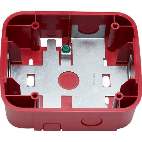 WALL SURF MOUNT BACK BOX RED