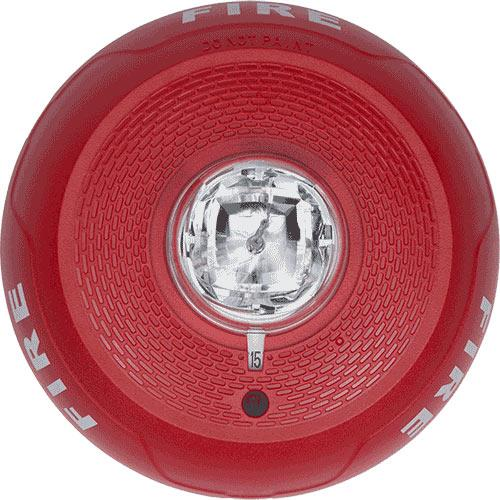 STROBE RED CEILING