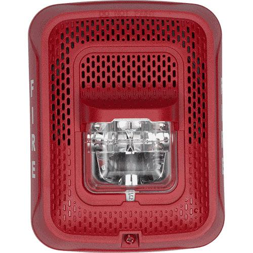SPEAKER STROBE RED WALL