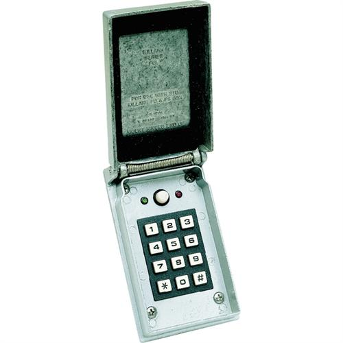 7022 KEYPAD 2LED OUTSIDE