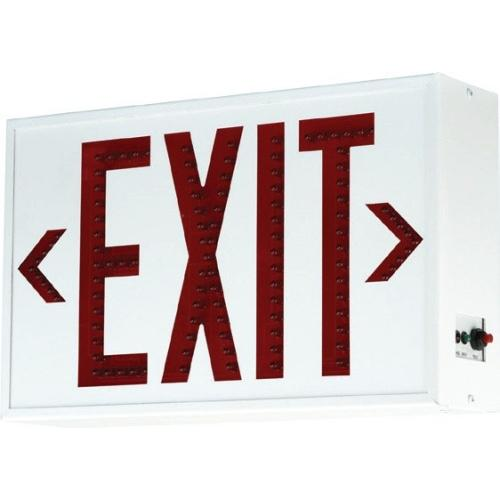 ALUMINUM LED EXIT SIGN