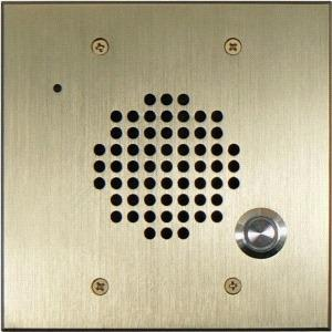 BRASS DOORBOX FLUSH MOUNT