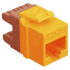 CAT6 INSERT 8P8C HD ORANGE