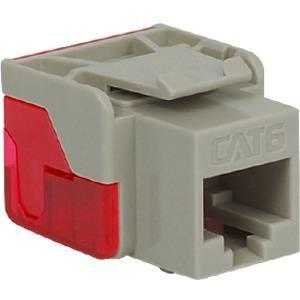 CAT6 INSERT 8P8C EZ GREY