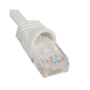 1-FT CAT5E PATCH CABLE WHITE
