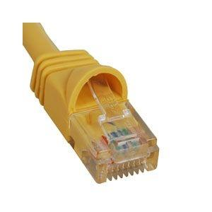 3-FT CAT5E PATCH CABLE YELLOW