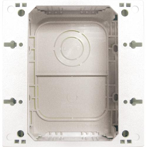 SURFACE MOUNT SPEAKER BOX WHT