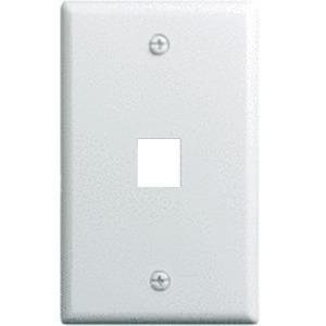 10 PK 1-GANG 1-PORT WALLPLATE