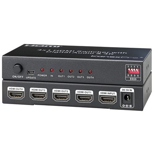4K HDMI 4-PORT SPLITTER
