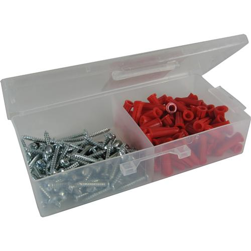 #8 PLASTIC ANCHOR KIT 8X1 100P