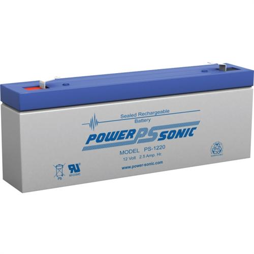 12V 2.5AH SLA BATTERY F1