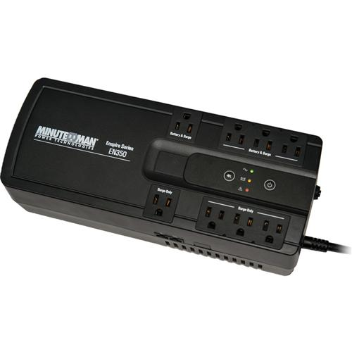 UPS350VA USB 4-BAT/4-SURGE OUT