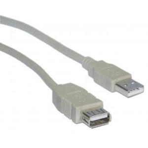 6 FT USB EXTENSION CBLE:M TO F