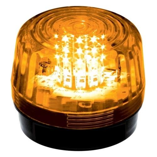 12 LED STROBE, FLASH, AMBER